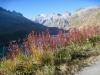 Lago di Lucendro 2134m, Pizzo Lucendro 2963m, Stegenhorn 2709m, Siwerbenhorn 2764m