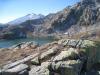 malerische Landschaft mit Pizzo Lucendro 2963m