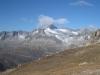 Furkahorn 3026m, Sidelenhorn 3217m, Galenstock 3558m, Rhonestock 3596m