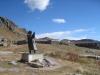 Statue auf dem Gotthard