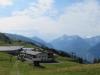 Käserstadt; Bänzlauistock 2530m, Ritzlihorn 3263m, Oberaarhorn Gletscher