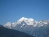 Blick von Giw Weisshorn 4506m, Brunegghorn 3833m, Bishorn 4153m un Barrhörner