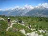 Aufstieg zum Gibidum 2317m;  Bietschhorn