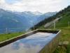 Blick ins Weisstannental von der Alp Folla