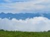 aif der Alp Folla; Wolken steigen auf