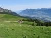 Blick auf Rieterhütten und Rheintal