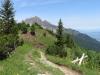 beim Aufstieg auf den Gonzen; Gauschla und Girenspitz