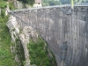Lac Montsalvens Staumauer