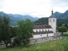 die Kirche von Gruyères