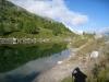 der Grünsee 2300m mit li Matterhorn