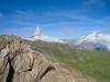das Matterhorn 4478m, Dent Blanche 4356m