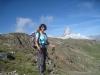 Mariannne neben dem Matterhorn 4478m