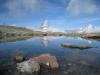 am Seelein  2856m Obere Kelle mit Matterhorn 4478m; Dent Blanche  4356m