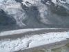 Gornergletscher Detail; Breithorn, kl. Matterhorn