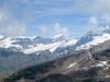 gegen Hohtälli; Alphubel 4206m, Allalinhorn 4027m, Rimpfischhorn 4198m
