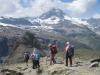 Ausblick beim Abstieg vom Gornergrat; mit Matterhorn