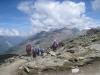 Ausblick beim Abstieg vom Gornergrat