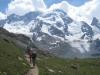 Gruppe mit: Breithorn  4165m, kl. Matterhorn 3883m