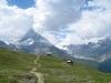 Kapelle auf Riffelberg mit Matterhorn 4478m