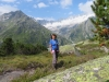 Marianne,   li Lochberg  3097m; hi Winterstock 3203m  ganzes Massiv, Gletschhorn 3305m, Galenstock 3586m,Tiefenstock 3515m, Vorderer Rhonestock 3566m