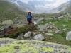 Marianne im Gletschervorfeld des Dammagletschers