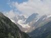 Blick ins Chelenalptal;  Massplanggstock 3401m, Hinter Tierberg 3447m, Gwächgtenhorn 3420m