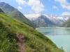 auf dem Panoramaweg: Göschenersee