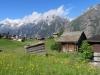 li  Weisshorn 4506m  von Bina aus