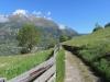 ein schöner Wanderweg; Mällich 2666m, Grat 2810m