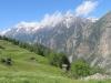 Weisshorn 4506m, Brunegghorn 3833m, Bishorn 4153m