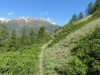 Augstbordhorn 2973m, Mällich 2666m, Grat 2810m