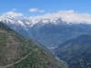 Blick  auf Visp; vom Bietschhorn bis zum Alpjahorn