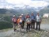 Gruppenfoto auf dem Blauherd  2571m