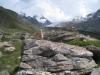 Strahlhorn 4190, Adlerhorn 3988m und Findelgletscher