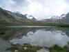 am Stellisee 2537m mit Rimpfischhorn, Strahlhorn und Adlerhorn