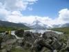 am Stellisee 2537m mit Matterhorn 4478m