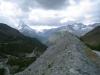 die Moräne mit Matterhorn