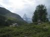 Berghus Grünsee mit Matterhorn