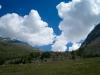 prächtige Wolken
