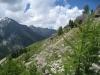 ein Blick talauswärts; Balfirn, Schilthorn