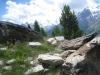 Bergidyll mit Mittagshorn 3143m, Egginer 3367m, Allalinhorn 4027m