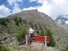 Marianne bei  bei Hannig 2445m; Jegihorn