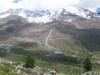 Kreuzboden: Fletschhorn 3993m, Lagginhorn 4010m, Weissmies 4023m