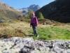 Marianne beim Halsensee 2003m; Ofenhorn 3235m