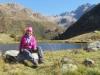 Marianne am Halsensee 2003m; Mittlebärg 2506m, Ofenhorn 3235m