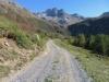 beim Aufstieg nach Gand;  Mittlebärg 2506m, Ofenhorn 3235m