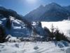 Winterstimmung bei Reuti mit Bänzlauistock 3189m, Ritzlihorn 3263m