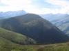 Piz Beverin 2998m, Bruschghorn 3056m; vo Lüschgrat