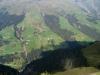 Glasergrat  2124m; Blick ins Safiental