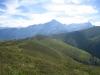 Blick vom Tguma 2163m auf Bischolalp, Beverin und Bruschhorn